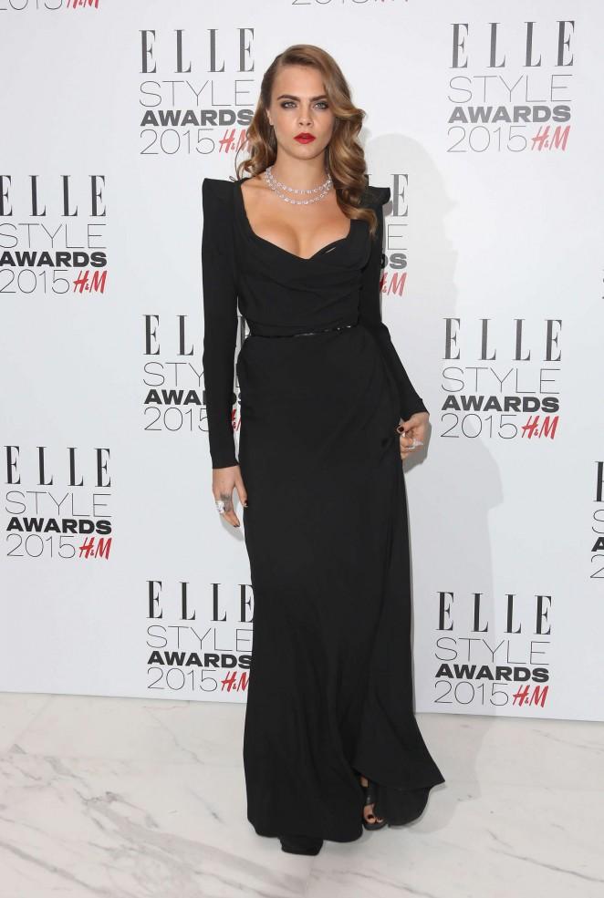 Cara Delevingne: Elle Style Awards 2015 -04