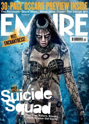 Cara Delevingne - Empire Magazine Cover (December 2015)