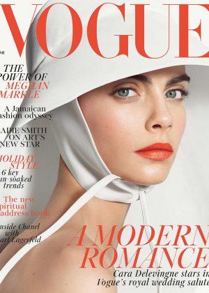 Cara Delevingne for Vogue UK (June 2018)