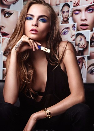 Cara Delevingne - Fusion Ink Foundation Campaign 2016