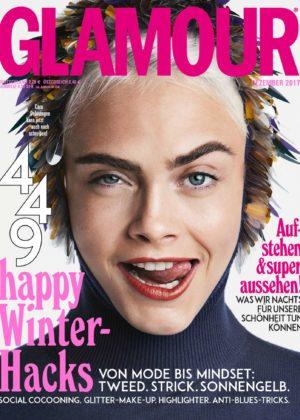 Cara Delevingne - Glamour Germany (December 2017)