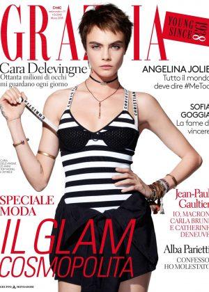 Cara Delevingne - Grazia Italy Magazine (March 2018)