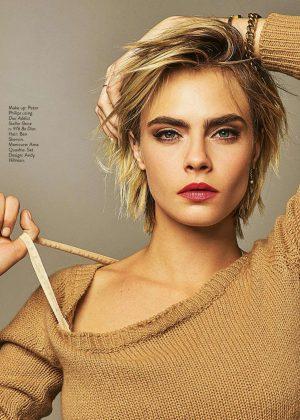 Cara Delevingne - Grazia Italy Magazine (March 2019)