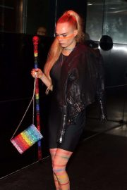 Cara Delevingne - Heads to the Met Gala After Party in NYC
