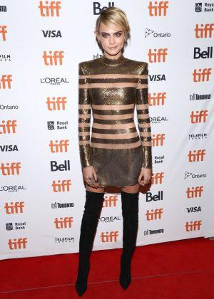Cara Delevingne - 'Her Smell' Premiere - 2018 Toronto International Film Festival