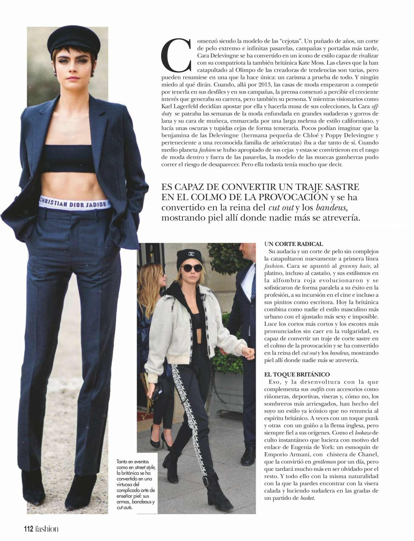 Cara Delevingne 2019 : Cara Delevingne: ¡Hola! Fashion 2019 -01