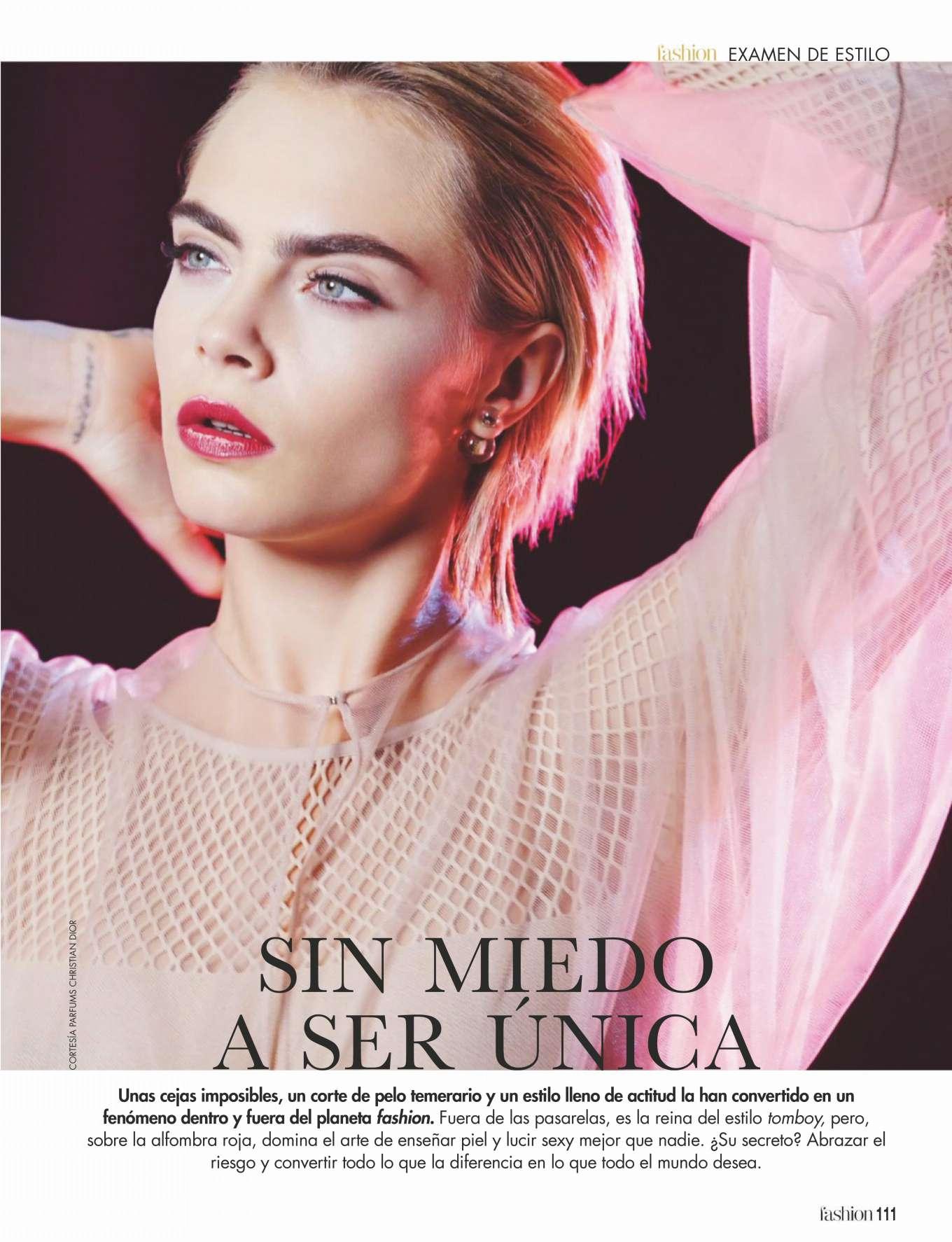 Cara Delevingne 2019 : Cara Delevingne: ¡Hola! Fashion 2019 -02