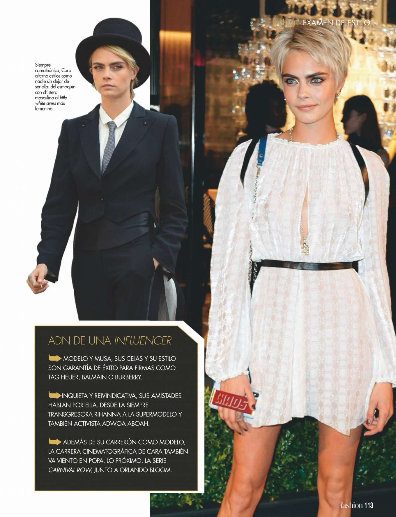 Cara Delevingne 2019 : Cara Delevingne: ¡Hola! Fashion 2019 -03