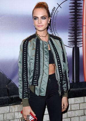 Cara Delevingne - Kachette for Rimmel London as their new ambassador in London