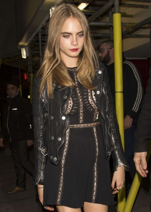 Cara Delevingne - Leaving the Scala in London