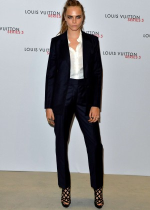 Cara Delevingne: Louis Vuitton Series 3 VIP Launch -01