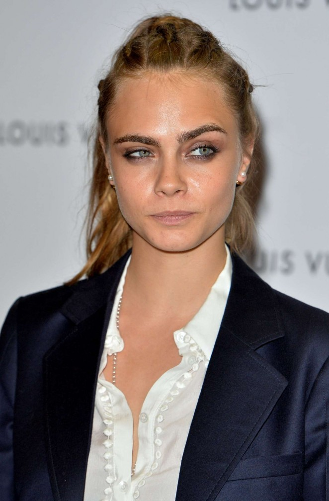 Cara Delevingne - Louis Vuitton Series 3 VIP Launch in London