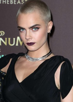 Cara Delevingne - Magnum x Moschino Party at 70th Cannes Film Festival