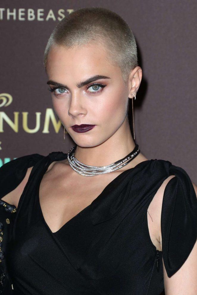 Cara Delevingne Magnum X Moschino Party At 70th Cannes