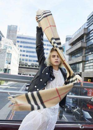 Cara Delevingne - New Burberry Her fragrance Campaign (October 2018)