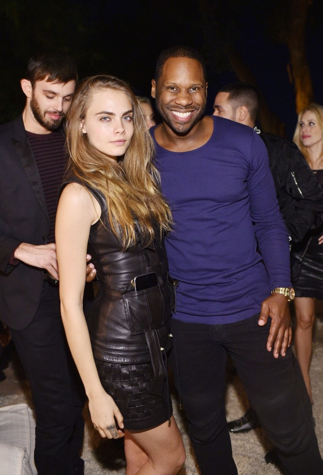Cara Delevingne - Olivier Rousteing's Birthday Party in LA