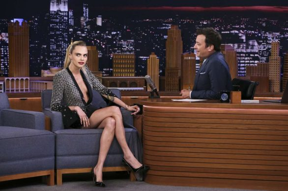 Cara Delevingne - On 'The Tonight Show Starring Jimmy Fallon' in NYC