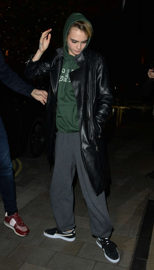 Cara Delevingne - Out and about in London