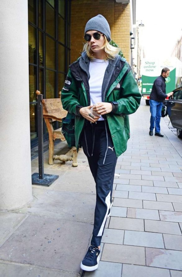 Cara Delevingne - Out in London