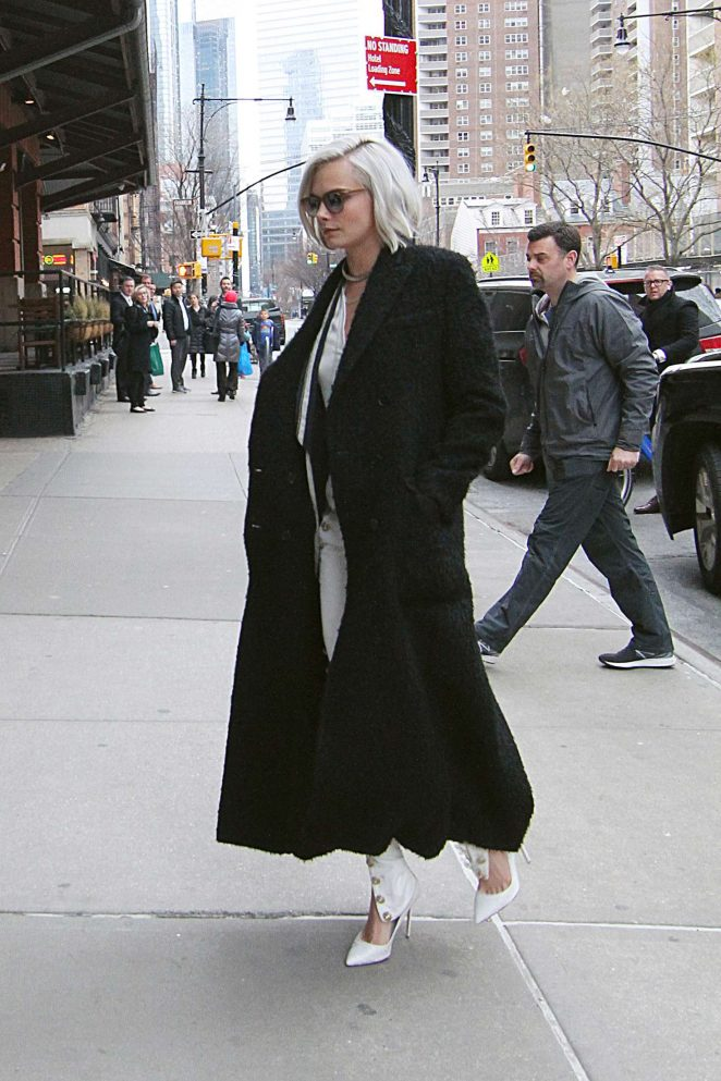 Cara Delevingne out in New York