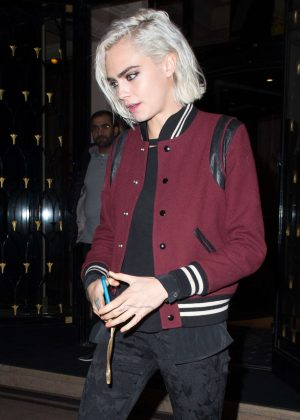 Cara Delevingne - Out Sopping in Paris