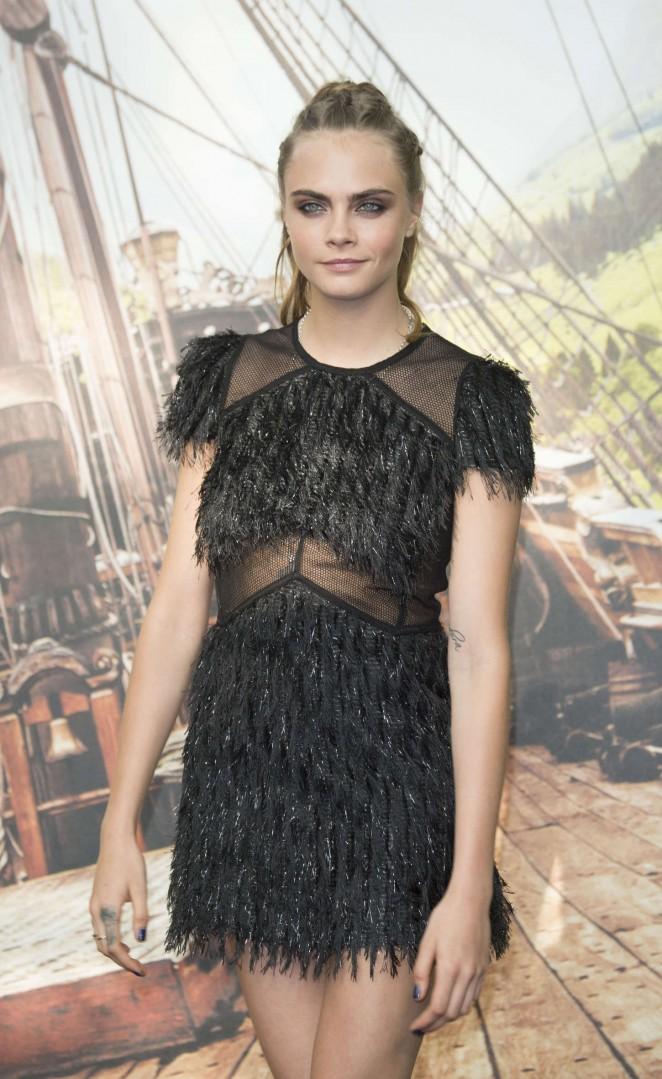 Cara Delevingne - 'Pan' Premiere in London