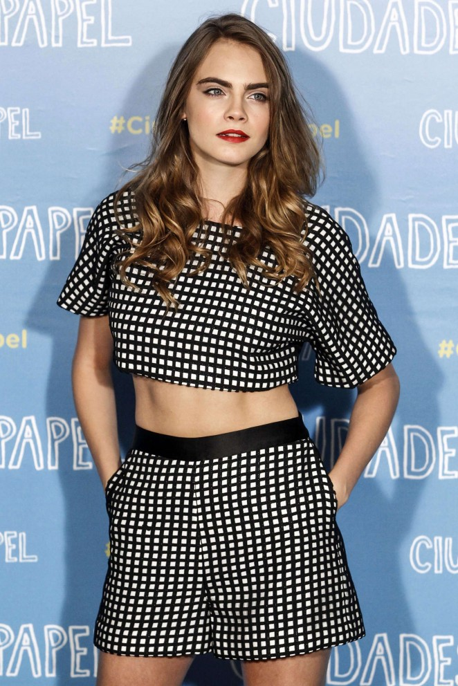 Cara Delevingne - 'Paper Towns' Photocall in Madrid