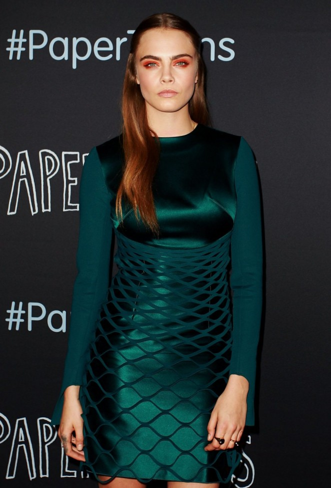 See cara delevingne paper towns