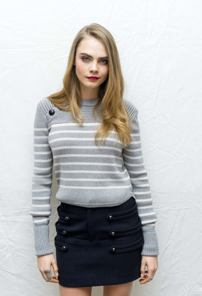 Cara Delevingne - 'Paper Towns' Press Conference in West Hollywood