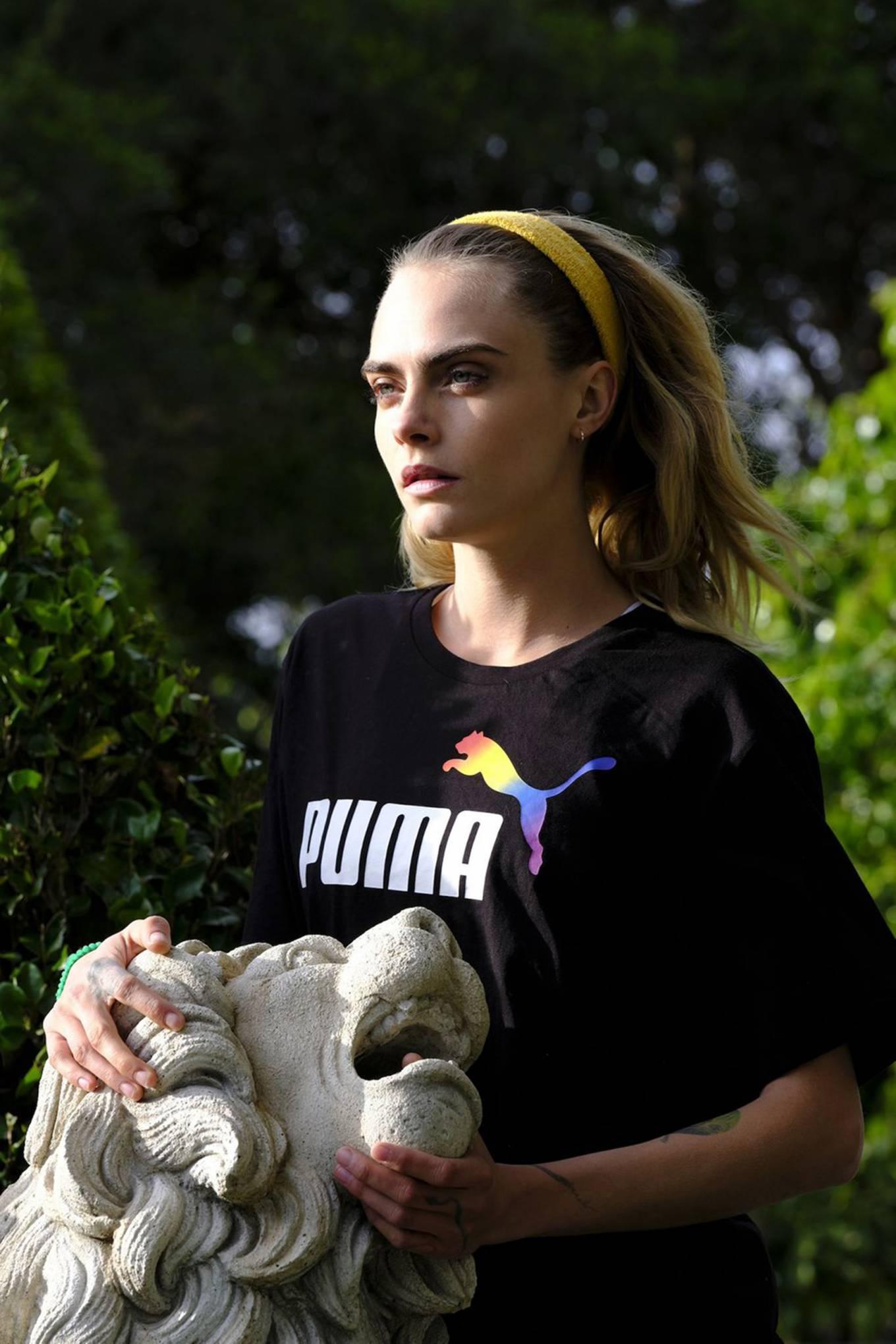 Cara Delevingne 2020 : Cara Delevingne – Photoshoot for PUMA Campaign 2020-02