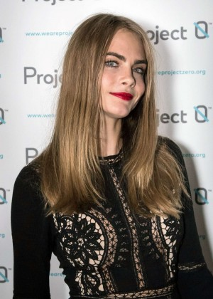 Cara Delevingne: Project 0 Wave Makers Marine Conservation Concert -01
