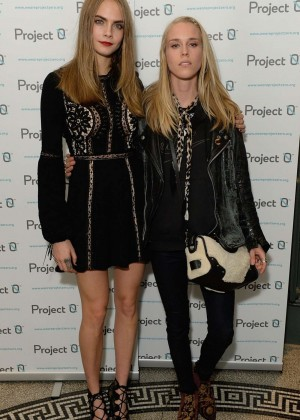 Cara Delevingne: Project 0 Wave Makers Marine Conservation Concert -09