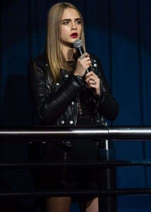Cara Delevingne: Project 0 Wave Makers Marine Conservation Concert -13