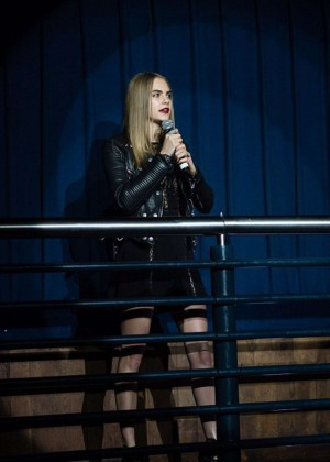 Cara Delevingne: Project 0 Wave Makers Marine Conservation Concert -19