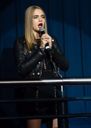 Cara Delevingne: Project 0 Wave Makers Marine Conservation Concert -22