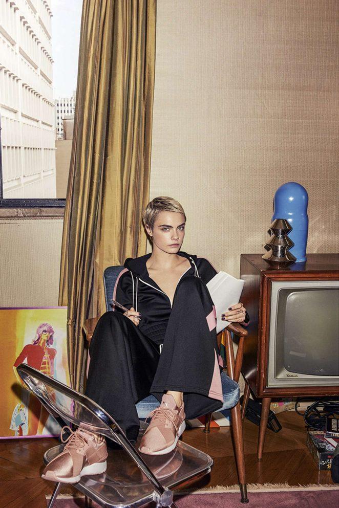 Cara Delevingne - Puma Campaign 2018