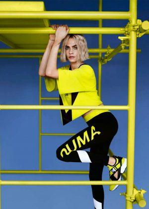 Cara Delevingne - Puma Muse Cut-out Sneaker 2018 Campaign