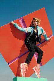 Cara Delevingne - PUMA's CELL Stellar Neon 2019