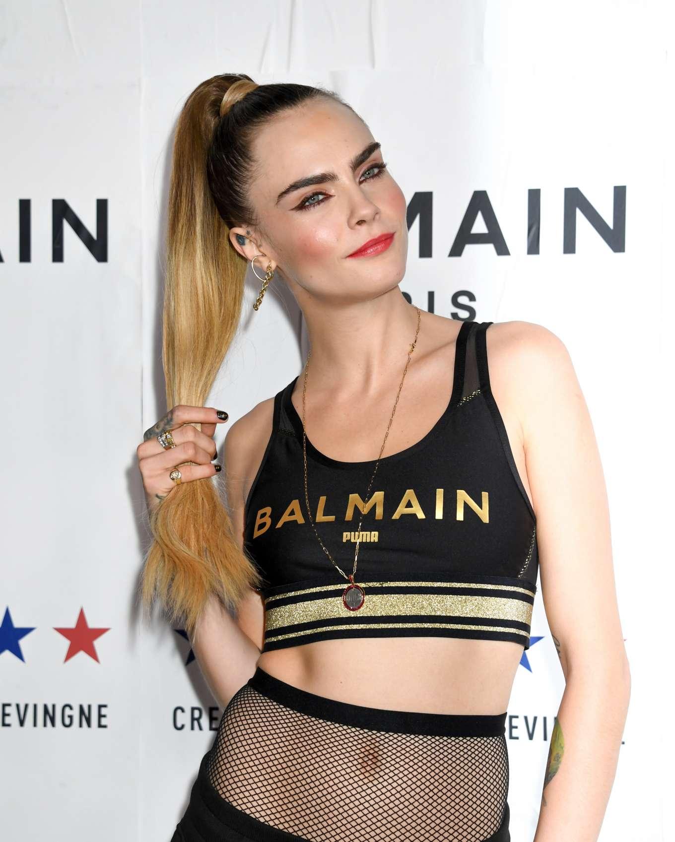 Cara Delevingne 2019 : Cara Delevingne – PUMA x Balmain Launch Event-04