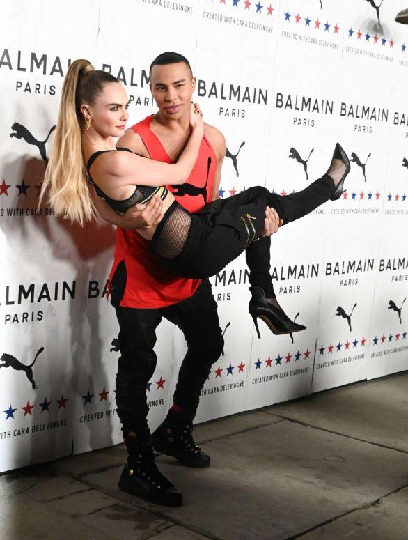 Cara Delevingne 2019 : Cara Delevingne – PUMA x Balmain Launch Event-10