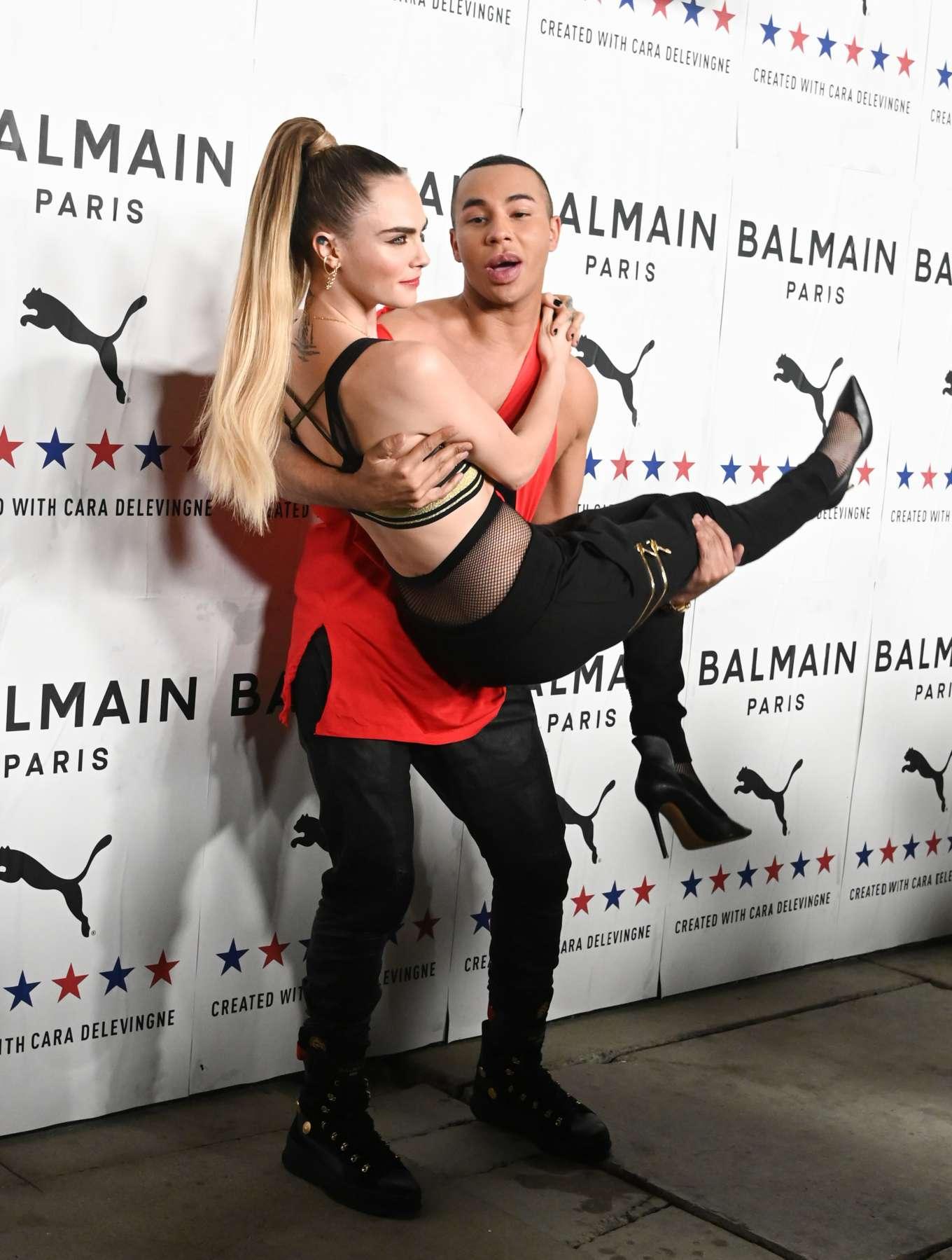 Cara Delevingne 2019 : Cara Delevingne – PUMA x Balmain Launch Event-20