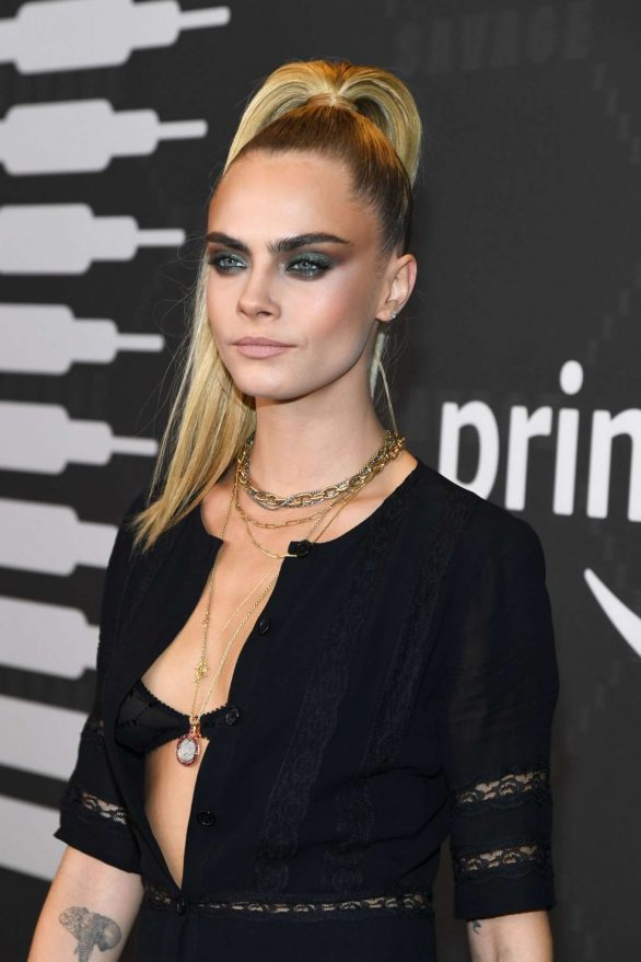 Cara Delevingne - Savage x Fenty Show in Brooklyn