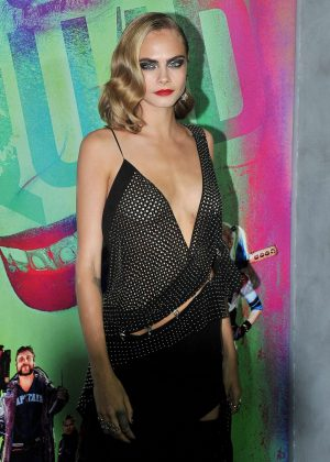 Cara Delevingne - 'Suicide Squad' Premiere in New York