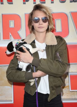 Cara Delevingne - 'Superpower Dogs' Premiere in Los Angeles