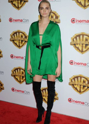 Cara Delevingne - 'The Big Picture' Presentation at CinemaCon 2016 in Las Vegas