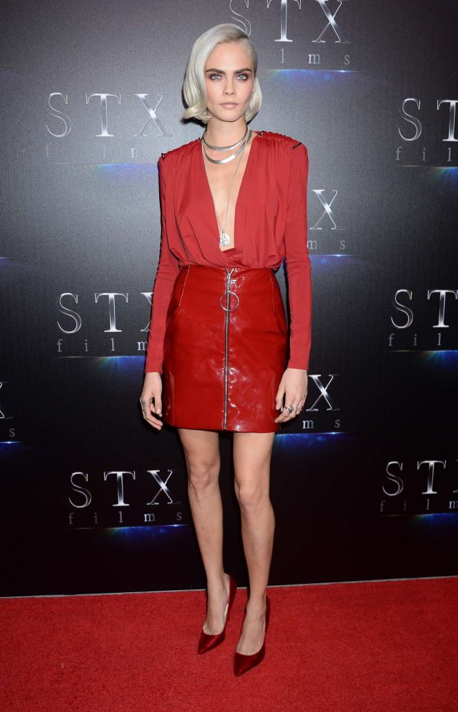 Cara Delevingne: The State of the Industry Presentation at CinemaCon -02