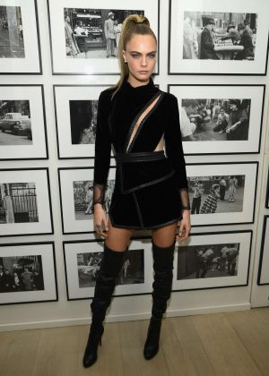 Cara Delevingne - Times Square Edition Premiere in NYC