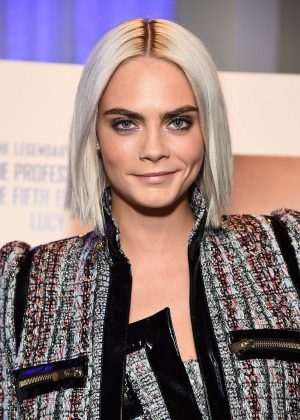 Cara Delevingne - Trailer viewing of 'Valerian and The City of a Thousand Planets' in NY