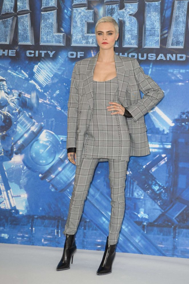Cara Delevingne – 'Valerian and the City of a Thousand Planets' Photocall in London