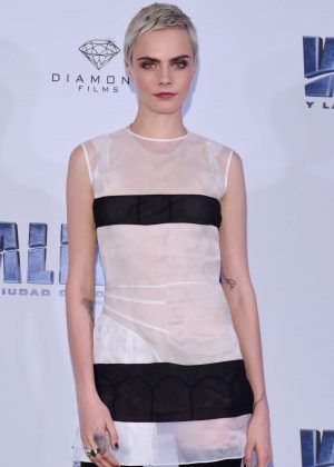 Cara Delevingne - 'Valerian and the City of a Thousand Planets' Photocall in Mexico City